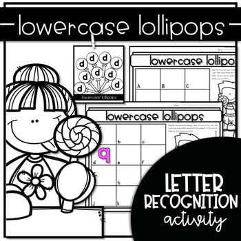 LOWERCASE LOLLIPOPS {WRITE the ROOM Letter Recognition Activities}