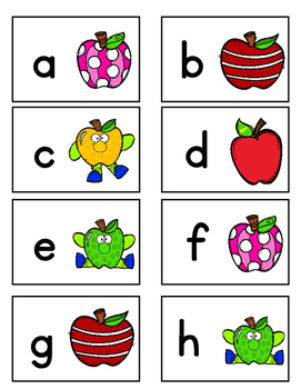 LOWERCASE Letter Identification Game