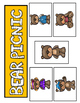 LOWERCASE Letter Identification Game (Bear Theme)