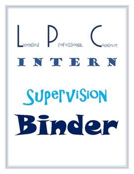 LPC Intern Binder Cover