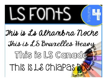 LS Fun Fonts for Spanish, French, German, and other European Languages