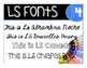 LS Fun Fonts for Spanish, French, German, and other Europe