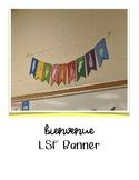 """LSF """"Bienvenue"""" Banner"""