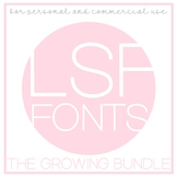 LSF Fonts Growing Bundle