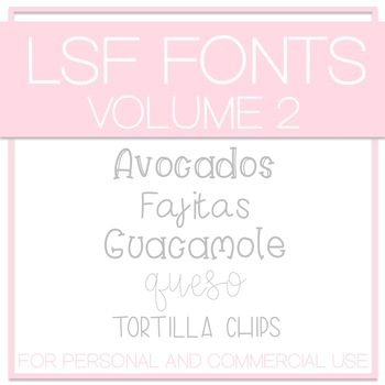 LSF Fonts - Volume 2