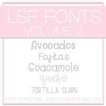 LSF Fonts - Volume 2