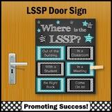 LSSP School Psychologist Poster, Door Sign 8x10 or 16x20