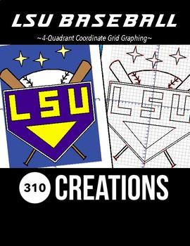 LSU Baseball Coordinate Grid Graphing