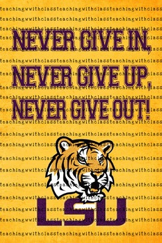LSU Classroom Poster