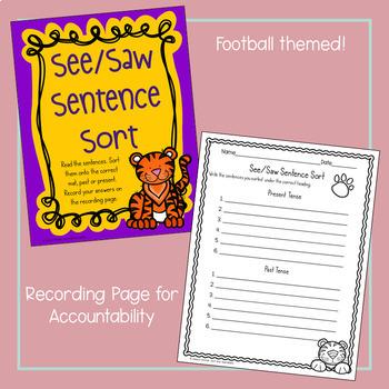 LSU See/Saw Sentence Sort