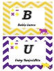 LSU Tigers math BUILD labels