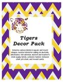 LSU tiger decor pack