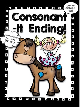LT Consonant Ending Word Work! - No Prep!