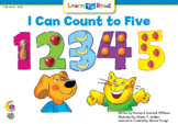 """LTR """"I Can Count to Five"""" - Interactive Digital Book"""