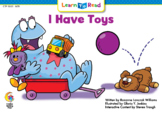"""LTR """"I Have Toys"""" - Interactive Digital Book"""