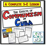 The Effects of Communism in Cuba: Activity & Lesson Bundle (Communist Economy)