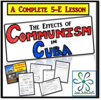 The Effects of Communism in Cuba: Activity & Lesson Bundle