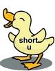 LUCKY DUCKY File Folder Phonics Game- short/long u reading