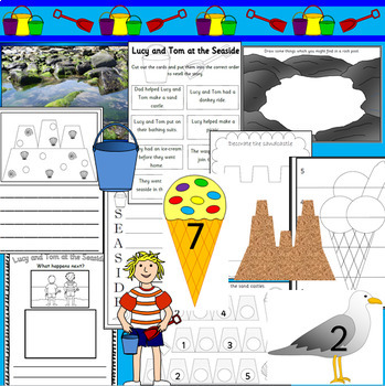 LUCY AND TOM AT THE SEASIDE book study
