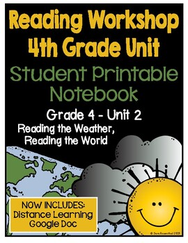 Lucy Reading Workshop - 4th Grade Notebook - Unit 2