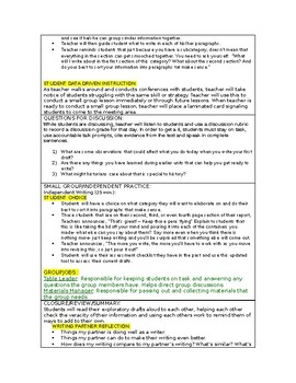 LUCY CALKINS:  THE LENS OF HISTORY- Lesson Plan for Session 2- Grade 5