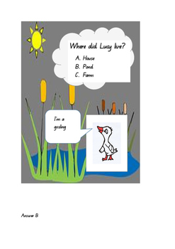 LUCY GOOSEY Comprehension exercise