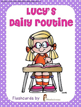 LUCY'S DAILY ROUTINE