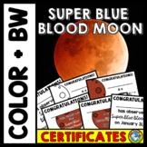 LUNAR ECLIPSE 2018 ACTIVITIES (SUPER BLUE BLOOD MOON CERTI