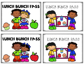 LUNCH BUNCH PASS