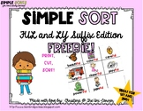 LY and FUL Suffix Sorting Cards FREEBIE!