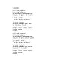 Traditional Song La Bamba Activity for Spanish 1
