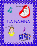 La Bamba-Mariachi Music (MP3),Worksheets,and  Pictures  to Learn Spanish