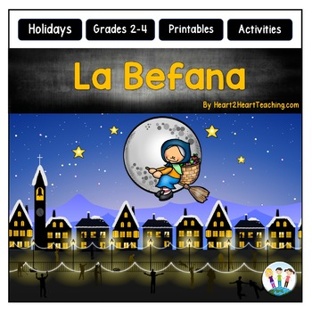 Christmas In Italy La Befana Activities And Flip Book