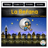 La Befana Activity Pack with Articles, Activities, and Flip Book