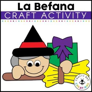 La Befana Cut and Paste