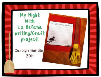 La Befana Writing and Craft Project