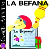 La Befana the Italian Christmas Witch Craft and Writing Activity