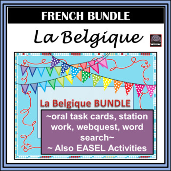 La Belgique BUNDLE – Belgium – cultural activities