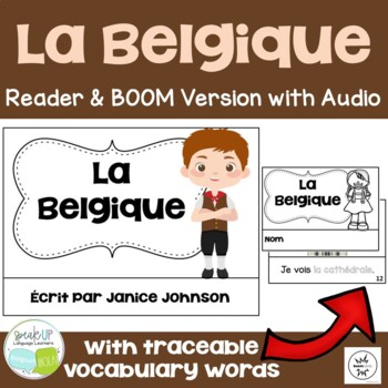 La Belgique ~ Belgium Reader & Vocab work ~ Simplified for
