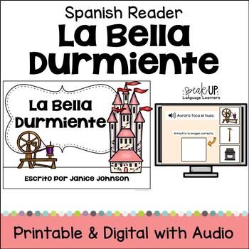 La Bella Durmiente Spanish Reader ~ Simplified for Language Learners