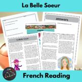 La Belle Soeur - a story for beginning/intermediate French learners