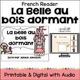 La Belle au Bois Dormant ~ Simplified Sleeping Beauty French Reader
