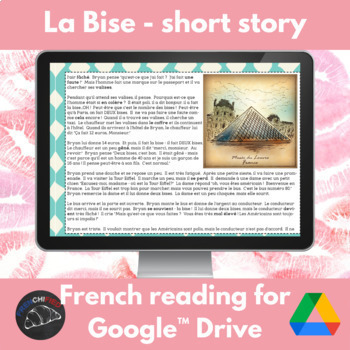La Bise - a story for French learners - Google Drive edition