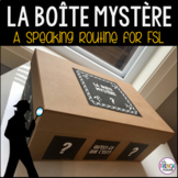 La Boite Mystère- a routine for the French classroom
