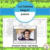 """La Camisa Negra"", Present Tense -GO Verbs & Clothing Vocabulary"
