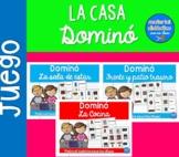La Casa, Dominó   Pack de juegos  Spanish Resources