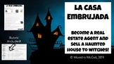 La Casa Embrujada / Haunted House - Real Estate Spanish Writing Project