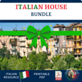 La Casa Italian Home Vocabulary Cornell Note sheet and Activities Bundle