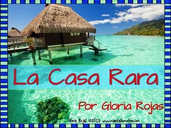 La Casa Rara – Emergent reader, ocean theme, rhyming
