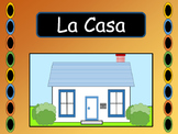 La Casa – Spanish House Vocab Presentation, Worksheets and Card Games